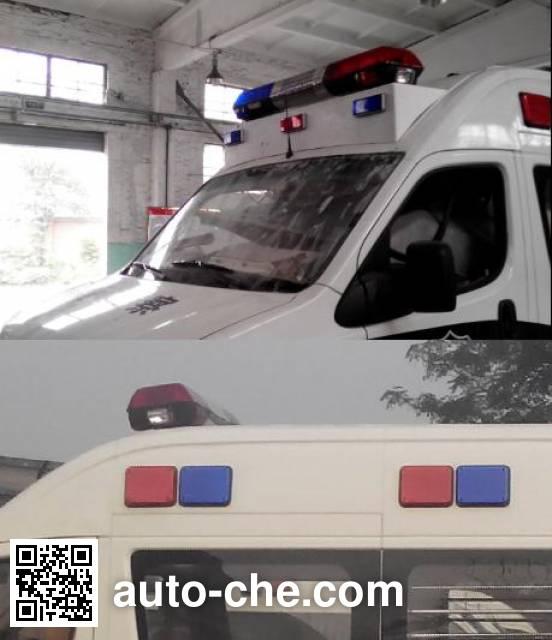 Dongfeng EQ5042XQC5A1H prisoner transport vehicle
