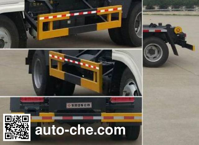 Dongfeng EQ5043ZXXL detachable body garbage truck