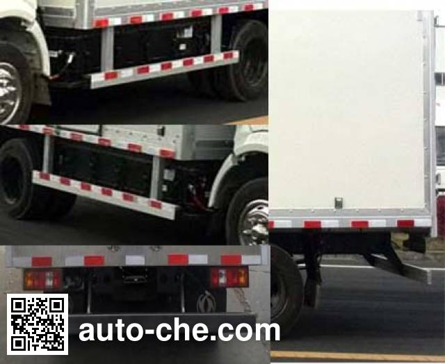 Dongfeng EQ5045XXYTBEV2 electric cargo van