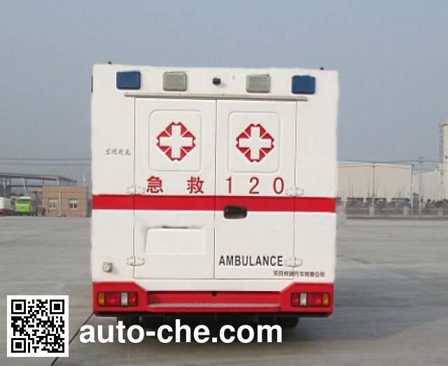 东风牌EQ5080XJHT监护型救护车