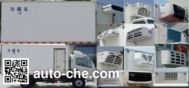 Dongfeng EQ5041XLC8BD2AC refrigerated truck