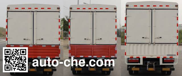 Dongfeng EQ5090CCYL8BDDAC stake truck