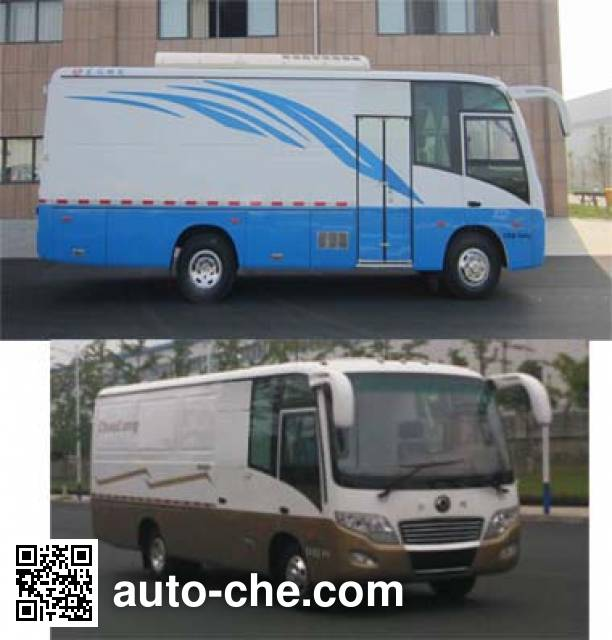 Dongfeng EQ5091XXYTV box van truck