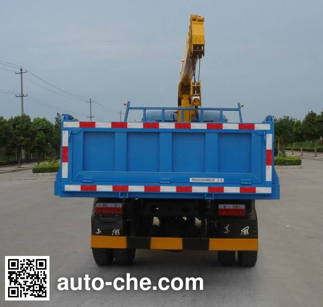Dongfeng EQ5100JSQ truck mounted loader crane