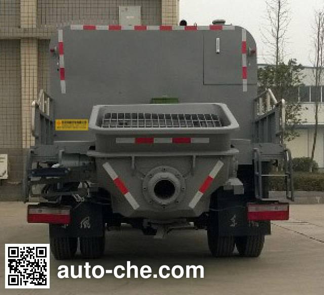 东风牌EQ5100THBT车载式混凝土泵车