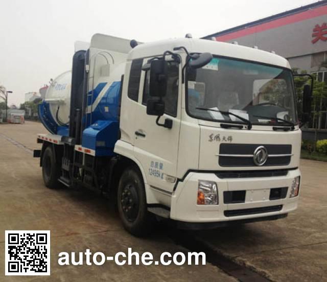Dongfeng EQ5120TCA5 food waste truck