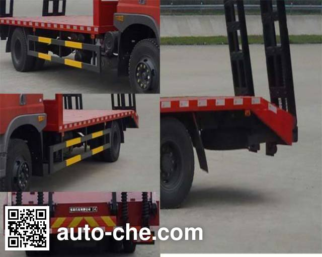 Dongfeng EQ5160TPBZZ4D flatbed truck