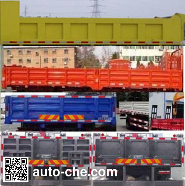 Dongfeng EQ5121JSQZM truck mounted loader crane