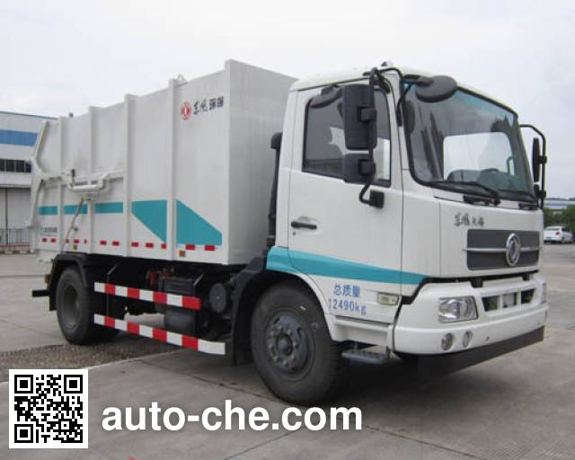 Dongfeng EQ5121ZDJS5 docking garbage compactor truck