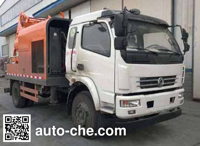 东风牌EQ5123THBT车载式混凝土泵车