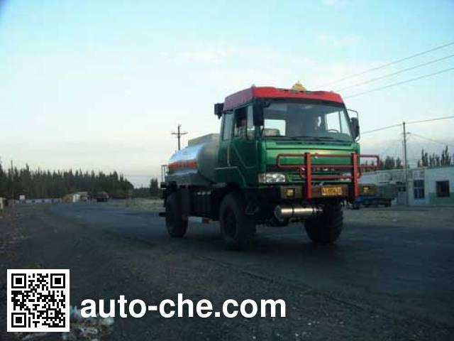 Dongfeng EQ5130GJYX desert off-road fuel tank truck