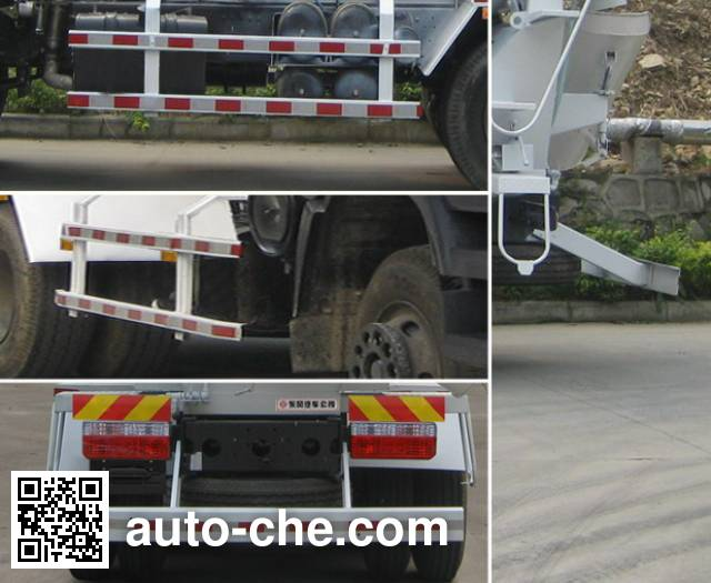 Dongfeng EQ5140GJB concrete mixer truck