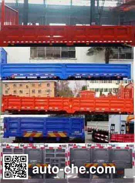 Dongfeng EQ5141JSQZM truck mounted loader crane