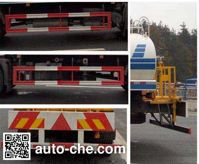 Dongfeng EQ5160GSST sprinkler machine (water tank truck)