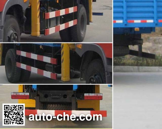 Dongfeng EQ5160JSQF1 truck mounted loader crane