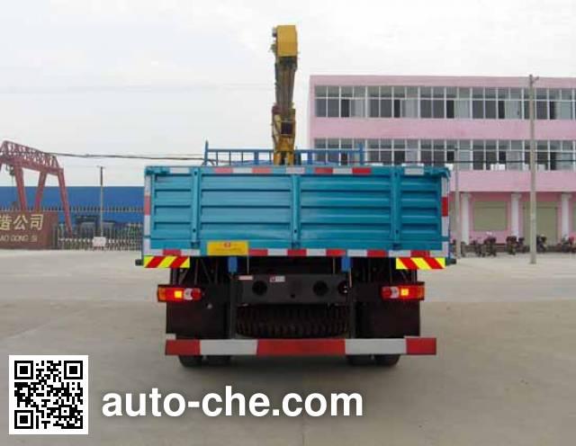 嘉龙牌EQ5160JSQG-40随车起重运输车
