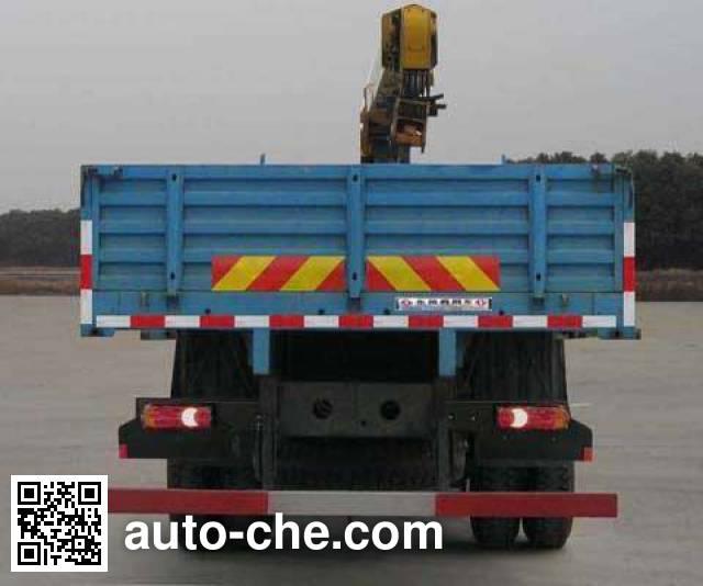 Dongfeng EQ5160JSQZZ4D truck mounted loader crane