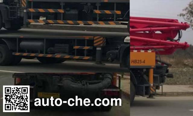 东风牌EQ5160THBT混凝土泵车