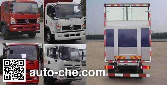 Dongfeng EQ5160XXYZZ4G1 box van truck