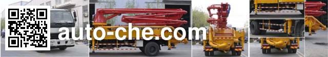 东风牌EQ5161THBL混凝土泵车