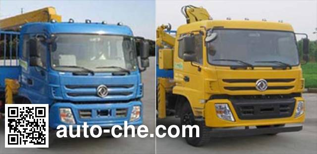 Dongfeng EQ5168JSQFN truck mounted loader crane