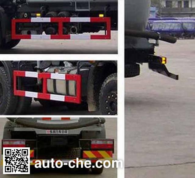 Dongfeng EQ5250GFLF low-density bulk powder transport tank truck