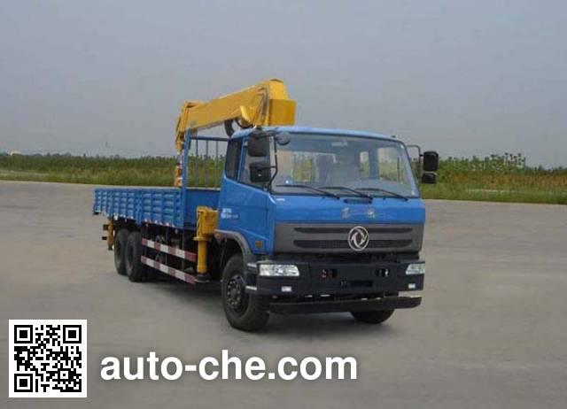 Dongfeng EQ5250JSQF1 truck mounted loader crane