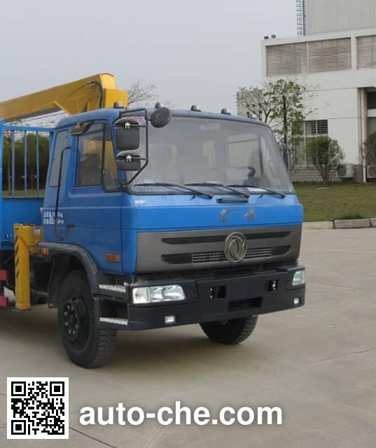 Dongfeng EQ5250JSQGD4D truck mounted loader crane