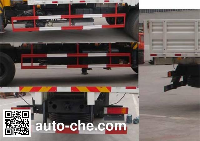 Dongfeng EQ5250JSQT12 truck mounted loader crane