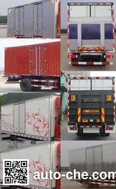 Dongfeng EQ5250XXYGZ4D box van truck