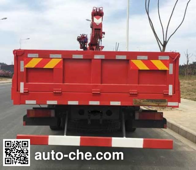 Dongfeng EQ5251JSQZMA truck mounted loader crane
