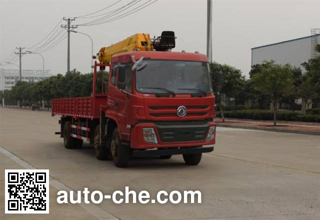 Dongfeng EQ5253JSQF1 truck mounted loader crane