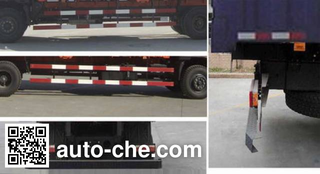 Dongfeng EQ5208XXBK3G soft top box van truck