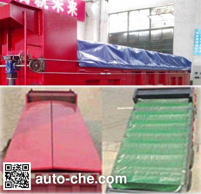 Dongfeng EQ5258ZLJT7 dump garbage truck