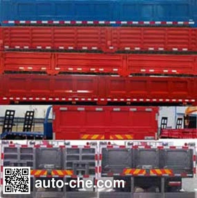 Dongfeng EQ5250JSQZM3 truck mounted loader crane