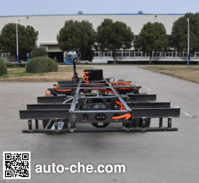 Dongfeng EQ6760KRACEV3 electric bus chassis