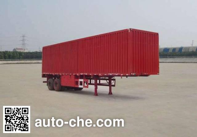 Dongfeng EQ9231XXYT box body van trailer