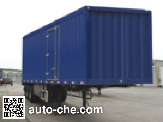 Dongfeng EQ9280XYY box body van trailer