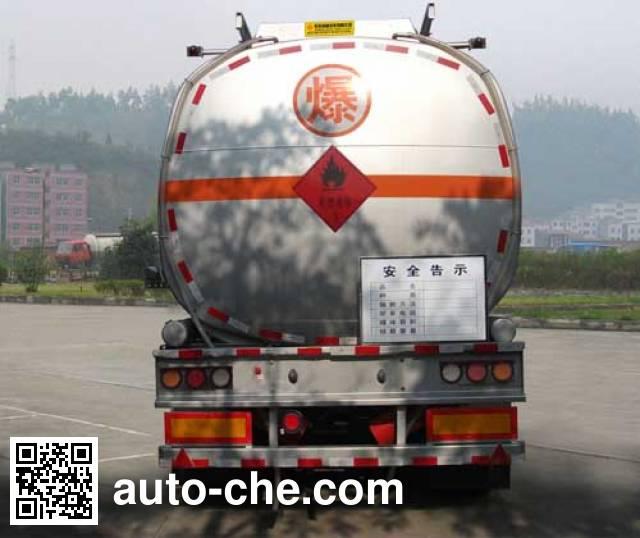Dongfeng EQ9350GRYT flammable liquid tank trailer