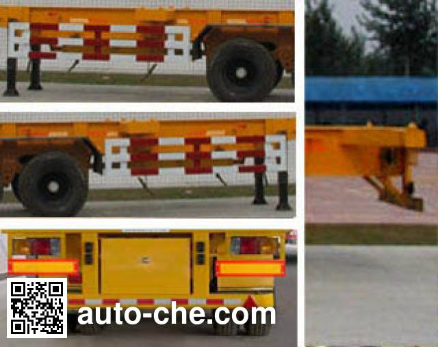Dongfeng EQ9390TJZT container transport trailer