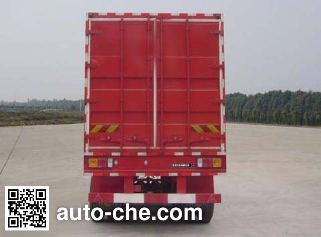 Dongfeng EQ9390XXY box body van trailer
