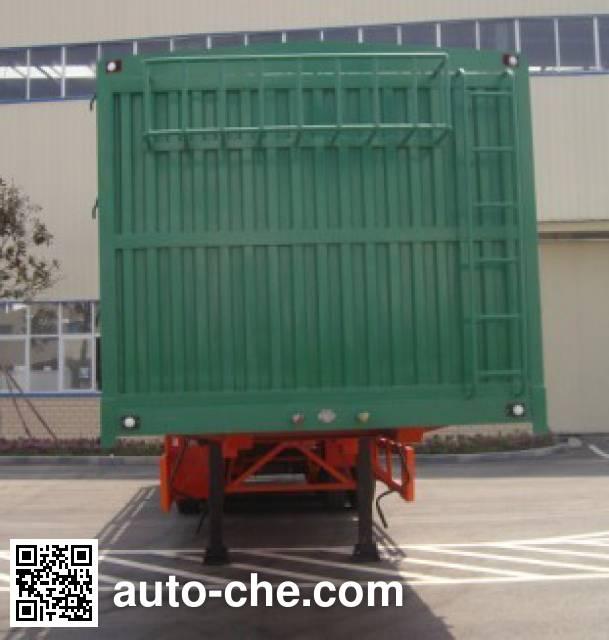 东风牌EQ9400CCY仓栅式运输半挂车