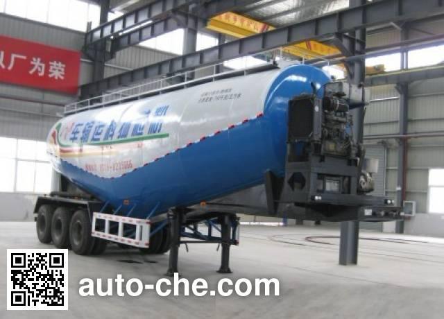 Dongfeng EQ9400GFLZM low-density bulk powder transport trailer