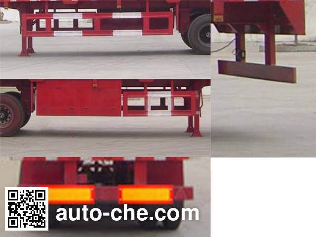 Dongfeng EQ9400XXYT box body van trailer