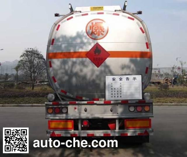 Dongfeng EQ9401GRYT1 flammable liquid tank trailer