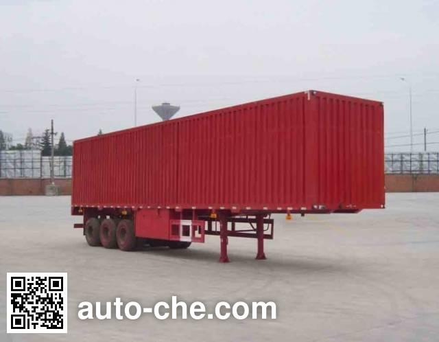 Dongfeng EQ9401XXYL box body van trailer