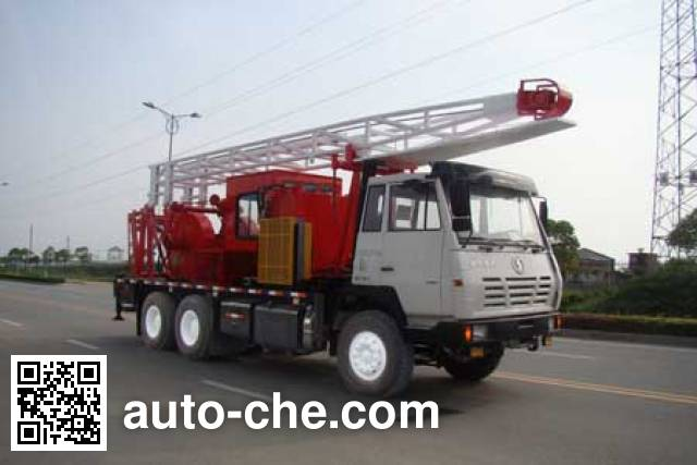 RG-Petro Huashi ES5220TCY well servicing rig (workover unit) truck