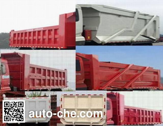 Chitian EXQ5316ZLJHR1 dump garbage truck