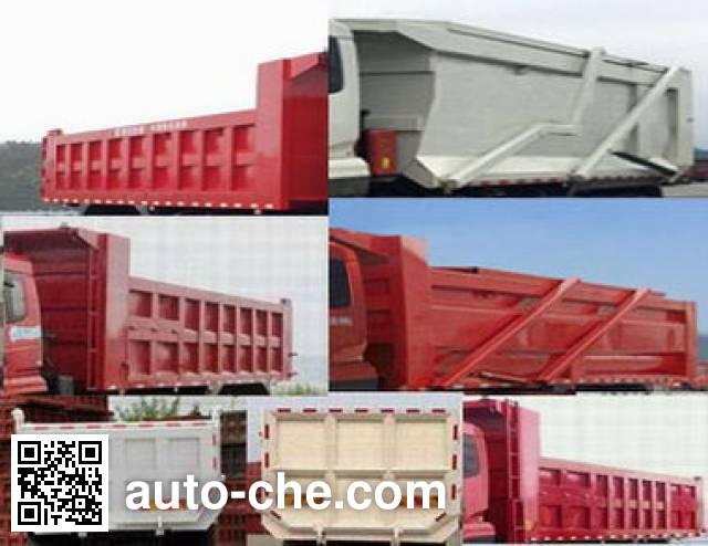 Chitian EXQ5316ZLJHR3 dump garbage truck