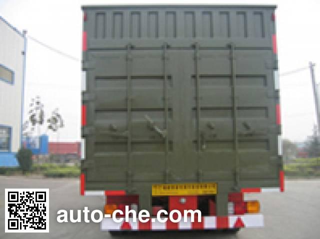 Changchun Yuchuang FCC9320XXY box body van trailer